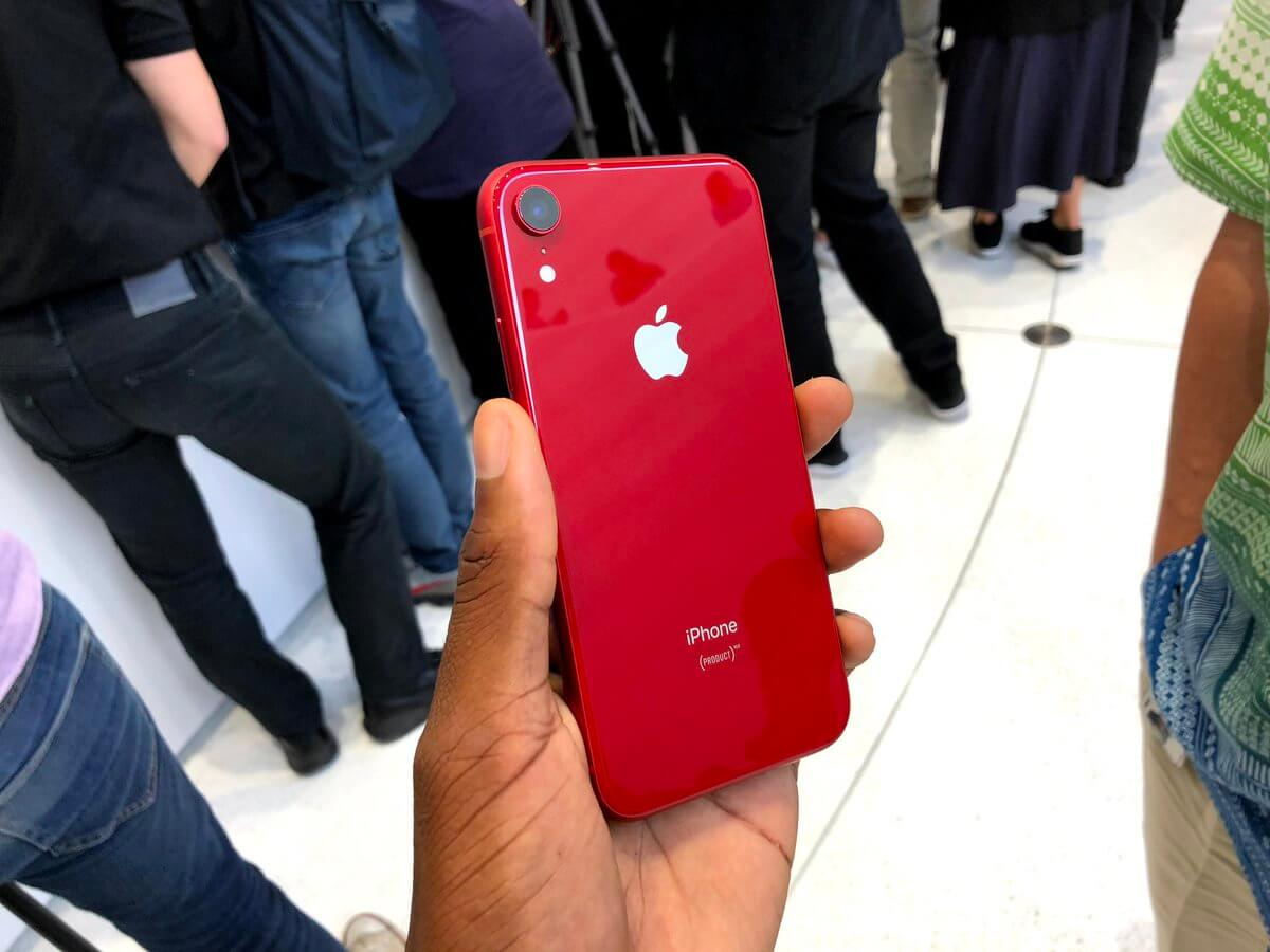 iPhone XR màu đỏ được người dùng ưa chuộng nhất