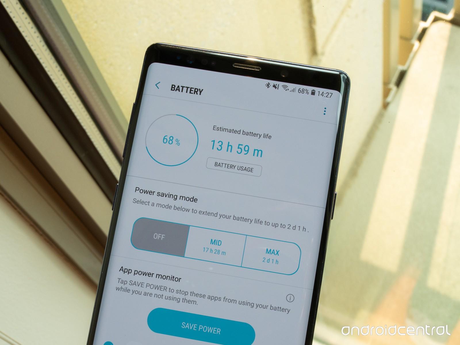 Kiểm tra độ chai pin điện thoại của Samsung