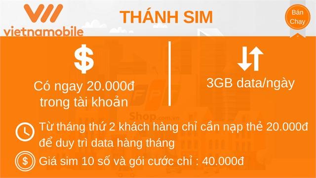 Thánh Sim Vietnamobile đầu 10 số