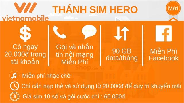 Thánh Sim Hero Vietnammobile